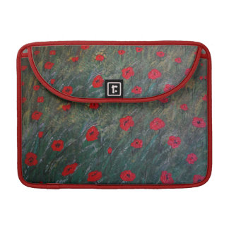 Poppy meadow sleeve für MacBooks