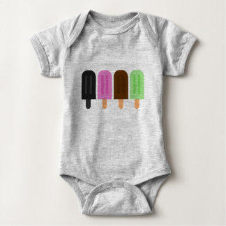 Popsicle-Baby-Jersey-Bodysuit Baby Strampler