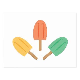 Popsicles Postkarte