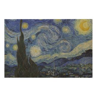 Populären Van Gogh sternenklare Nacht Holzdrucke