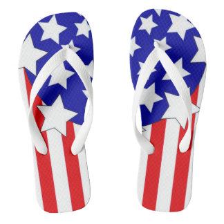 Populärer USA-amerikanischer Unabhängigkeitstag Flip Flops
