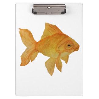 Porte-bloc Porte - bloc de poisson rouge d'aquarelle