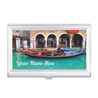 Porte-cartes De Visite Venise, Italie (IT) - gondolier