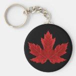 Porte - clé canadien de feuille d'érable porte-clef