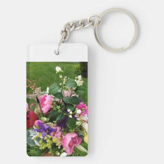 Porte - clé de fleur porteclés