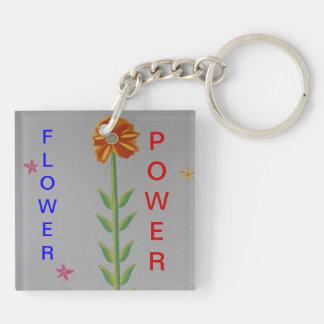 PORTE - CLÉ DE FLOWER POWER PORTE-CLÉ