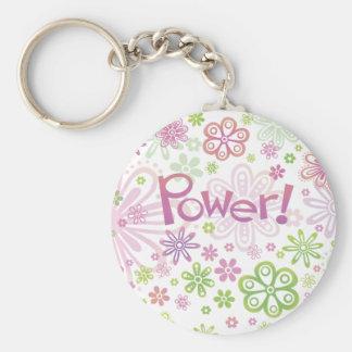 Porte - clé de flower power
