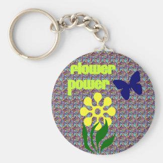 Porte - clé de flower power porte-clés