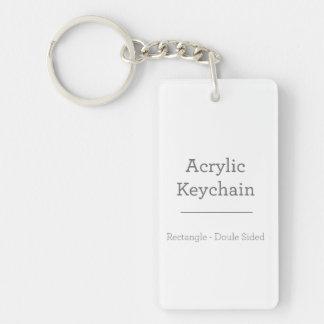 Porte - clé rectangulaire personnalisé