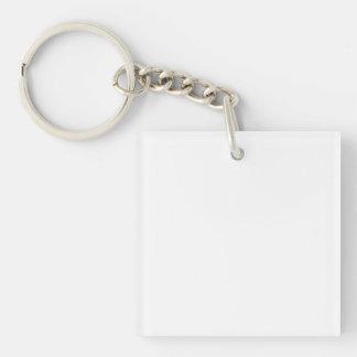 Porte-clés carrés personnalisés