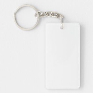Porte-clés rectangulaires personnalisés