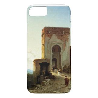Porte de Justice, Alhambra, Granada (Öl auf iPhone 8/7 Hülle