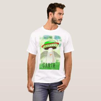 Portez-moi au T-shirt de Noël de Père Noël