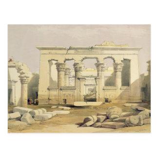 """Portico des Tempels von Kalabshah, von """"Ägypten Postkarte"""