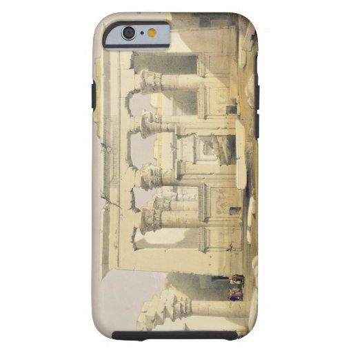 """Portique du temple de Kalabshah, de """"Egypte Coque iPhone 6 Tough"""
