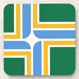 Portland-Flagge Untersetzer