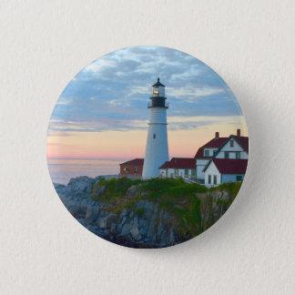 Portland-Leuchtturm-Knopf Runder Button 5,7 Cm