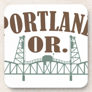 Portland ODER Getränkeuntersetzer