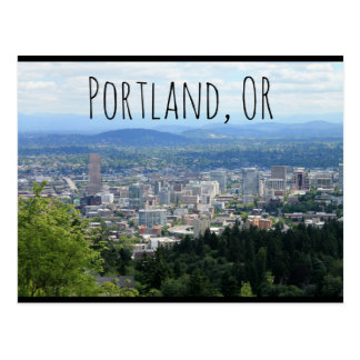 Portland ODER Postkarte
