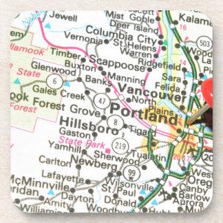 Portland, Oregon Getränkeuntersetzer