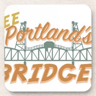 Portlands Brücken Untersetzer