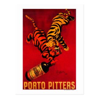 Porto-Entkerner Vintages PosterEurope Postkarte