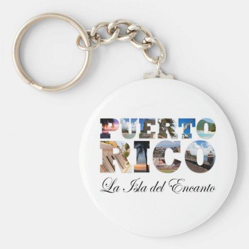 Porto Rico La Isla Del Encanto Montage Porte-clefs