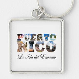 Porto Rico La Isla Del Encanto Montage Porte-clés