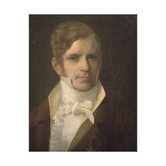 Portrait de Gaspare Spontini Impression Sur Toile