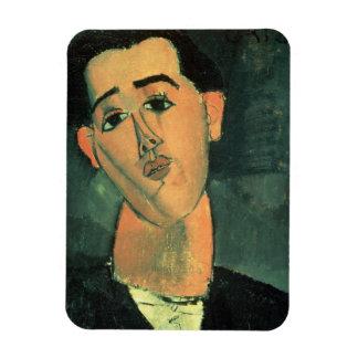Portrait de Juan Gris (1887-1927) 1915 (l'huile pe Magnets