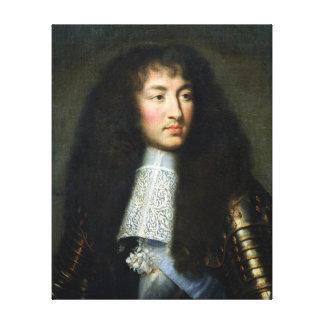 Portrait de Louis XIV Impressions Sur Toile
