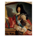 Portrait de Louis XIV Poster