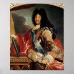 Portrait de Louis XIV Posters