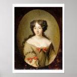 Portrait de Marie-Anne Mancini (1646-1714) c.1670 Affiches