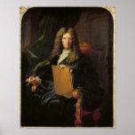 Portrait de Pierre Mignard c.1690 Poster