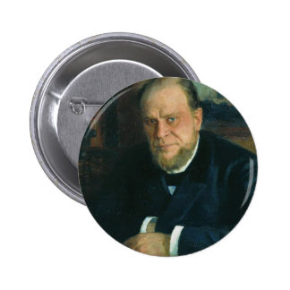 Portrait d'Ilya Repin- d'Anatoly Fyodorovichm Koni Pin's