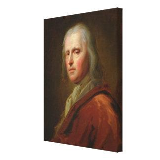 Portrait d'un homme 4 toile tendue