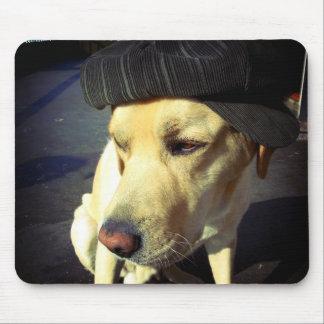 Portrait frais de Labrador avec le chapeau Tapis De Souris