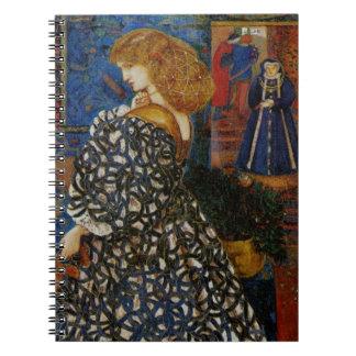 Portrait Sidonia von Bork 1860 Notizbuch