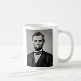 Porträt Abraham Lincolns Gettysburg Tasse