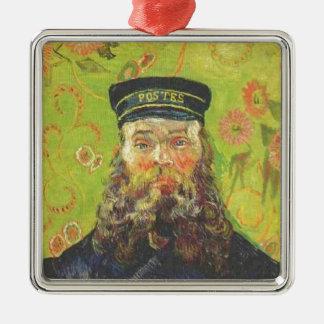 Porträt-Briefträger Joseph Roulin - Vincent van Silbernes Ornament