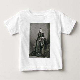Porträt des amerikanischen Verfassers Helen Hunt Baby T-shirt
