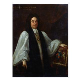 Porträt des Bischofs John Robinson c.1711 Postkarte
