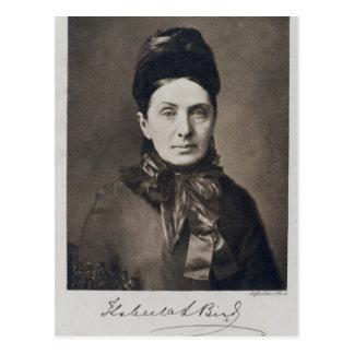 Porträt des Isabella-Vogel-Bischofs Postkarte