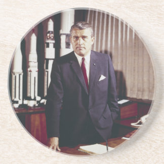 Porträt Doktor-Wernher von Braun Untersatz