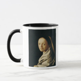 Porträt einer jungen Frau, c.1663-65 Tasse