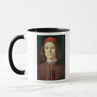 Porträt eines jungen Mannes, c.1480-85 Tasse