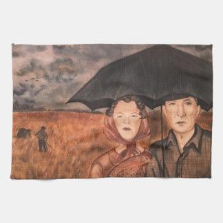 Porträt eines Traums Handtuch