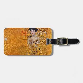 Porträt Gustav Klimt von Adele GalleryHD Vintag Gepäckanhänger