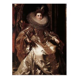 Porträt Peter Rubens- von Maria Serra Pallavicino Postkarte